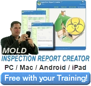 mold inspection report software